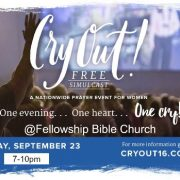 women's prayer event CryOut16 wtime_resize